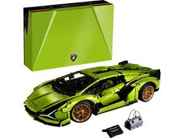 [Saturn] LEGO Technic 42115 Lamborghini Sián FKP 37 Bausatz