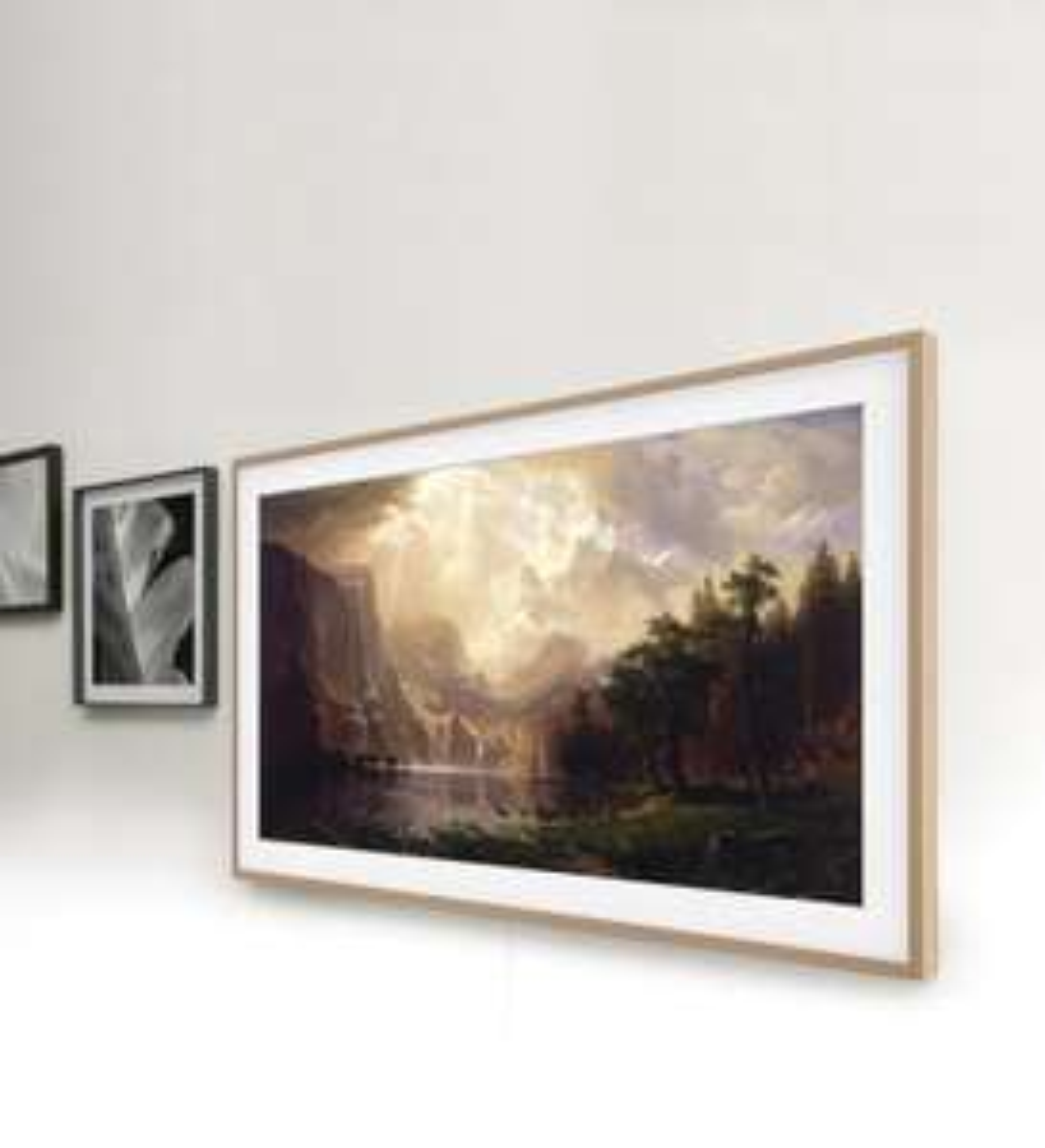 Samsung The Frame (2020) GQ65LS03TAU + Rahmen beige oder weiß - 100 Hz, HDMI 2.1