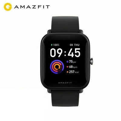 Amazfit Bip U Smartwatch, 50M Wasserdicht, Blutsauerstoff, Herzfrequenz, Schlafüberwachung