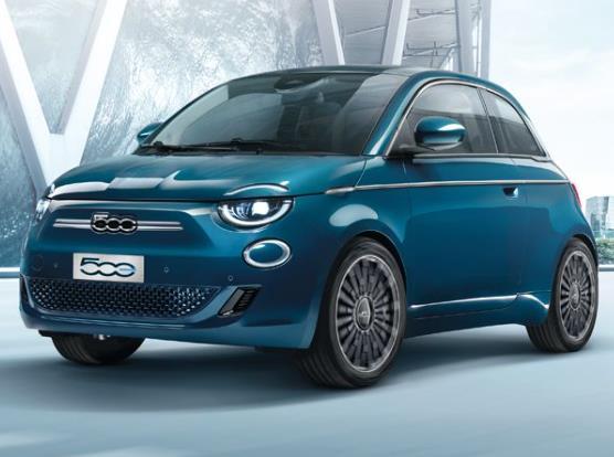 Privatleasing: Fiat 500 Elektro / 95 PS für 99€ monatlich inkl. Überführung - LF/GKF:0,41