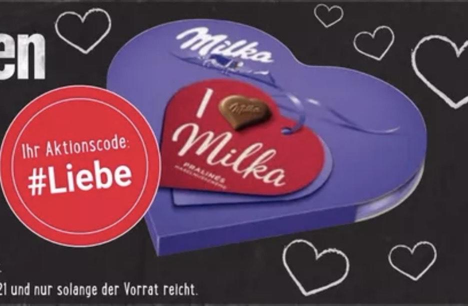 I Love Milka umsonst mit 5€ MBW - Edeka Genuss+