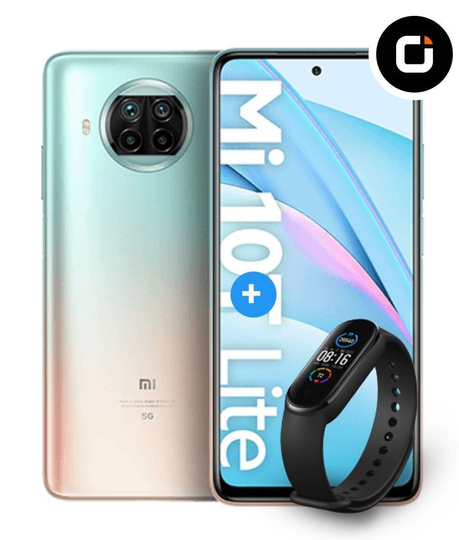 Xiaomi Mi 10T Lite 128GB mit Band 5 im Vodafone Otelo (40GB LTE, Allnet/SMS) mtl. 24,99€ einm. 39€, keine AG