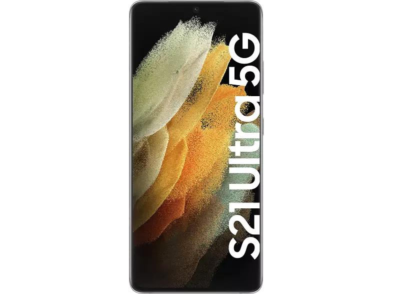 SAMSUNG Galaxy S21 Ultra 5G 256 GB Phantom Silver Dual SIM - Saturn 19% SuperBowl-Aktion