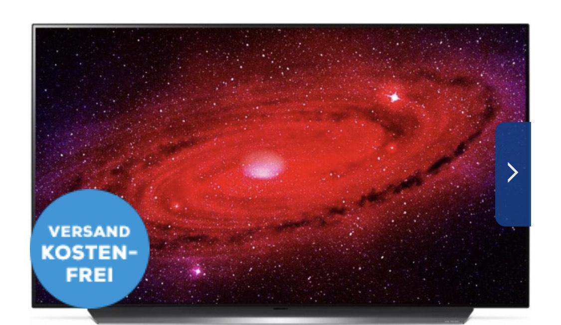 """LG OLED77CX9LA 195 cm (77"""") OLED-TV / A+"""