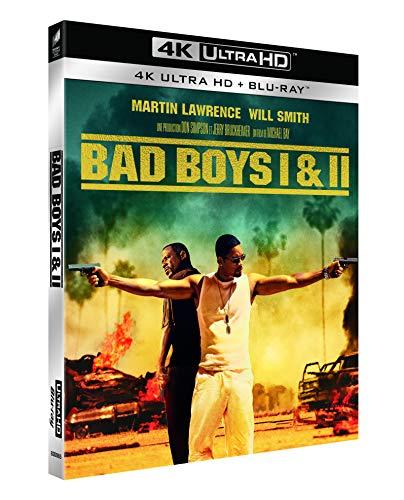 Bad Boys 1+2 4K Ultra HD Blu-ray + Blu-ray mit deutschem Ton