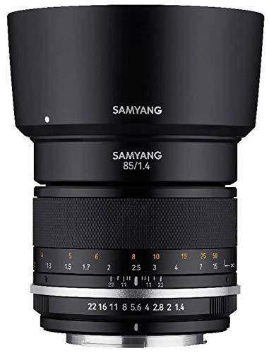 Samyang MF 85mm F1.4 Mark II Objektiv für Canon EF-M-Mount