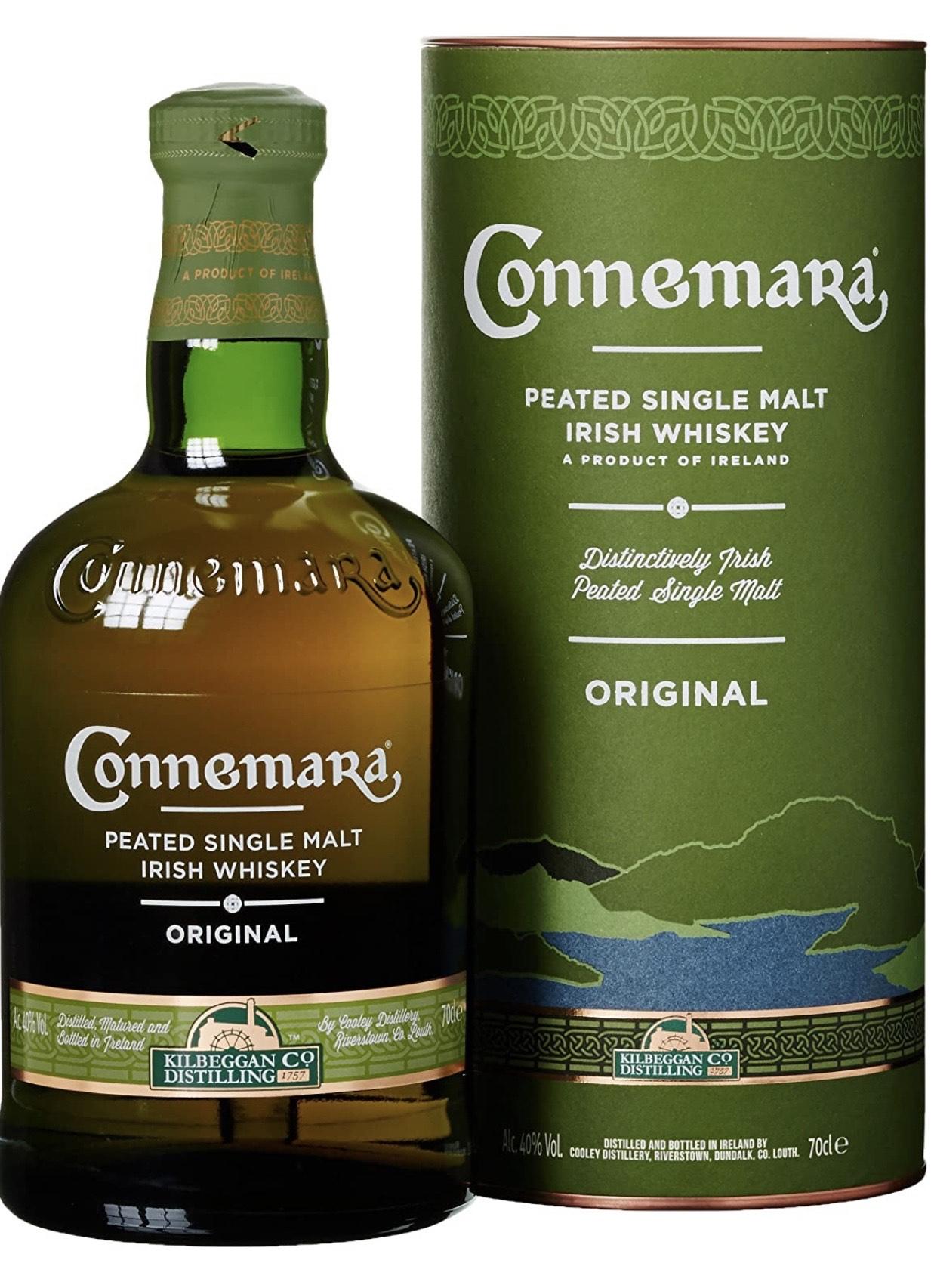 Connemara, peated single malt Irish whisky