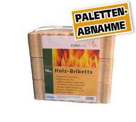 Holzbriketts 960 kg, nur Paletten Abnahme 0,17€/kg Globus Baumarkt Online