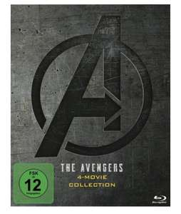The Avengers 4-Movie Collection [5 BRs] Blu-ray