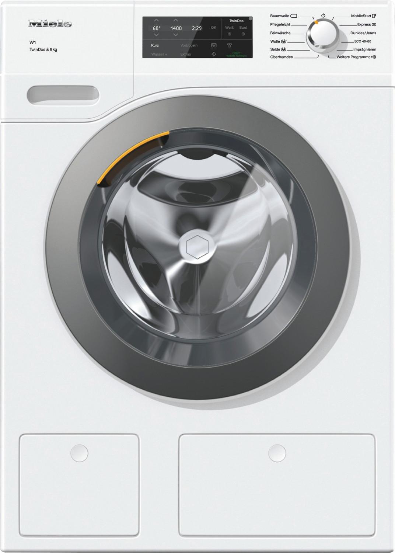 Miele Waschmaschinen & Waschtrockner: z.B. Miele WCG670 WPS TDos&9kg W1 Frontlader (A+++ -10%, 1400U/min)