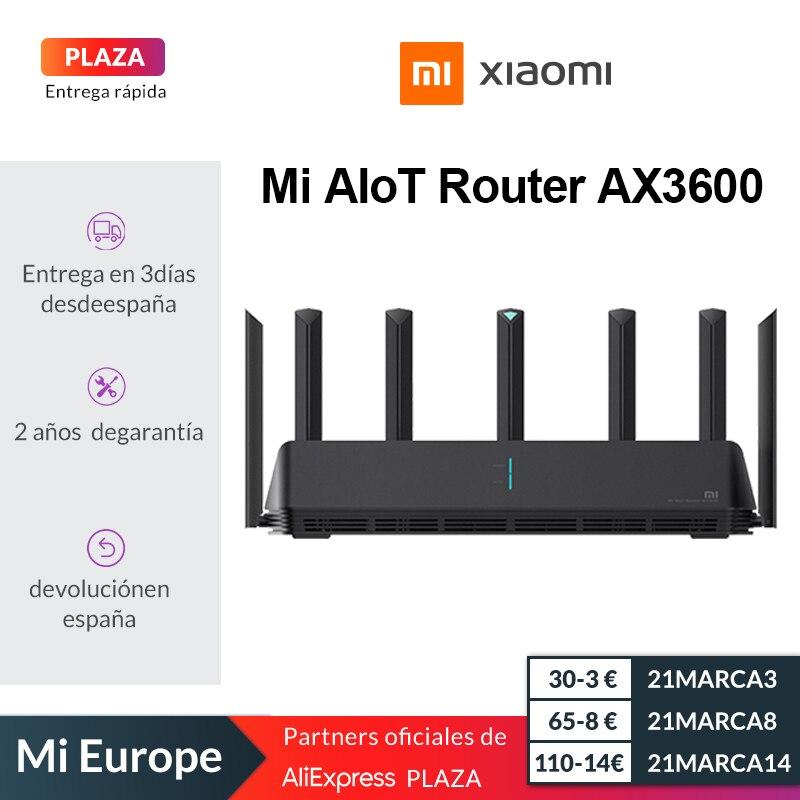 Xiaomi Mi AX3600 Router für 72€ (WiFi 6, 2976 Mbps, 7 Antennen, Mesh-Funktionalität) aus Spanien kein Code nötig