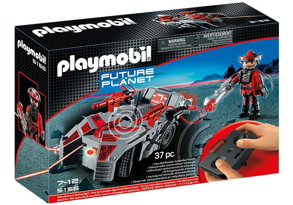 Playmobil 5156 Future Planet Stealer mit IR-Fernsteuerung & K.O.-Leuchtkanone