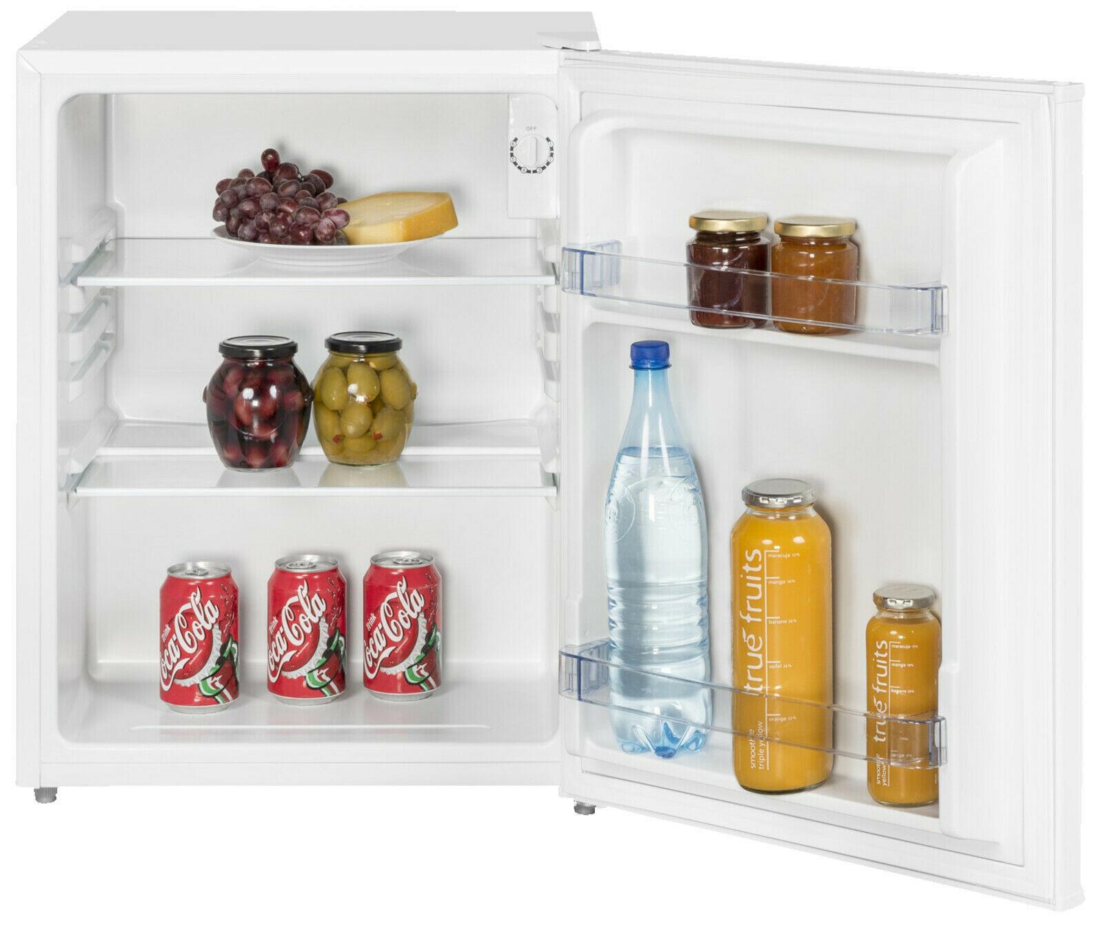Kühlschrank 58l EXQUISIT KB60-15 A++, Standgerät, A++, 620 mm hoch, Weiß