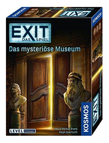 (Prime) EXIT - Das mysteriöse Museum (694227), Level: Einsteiger, Escape Room Spiel, für 1 bis 4 Spieler ab 10 Jahren