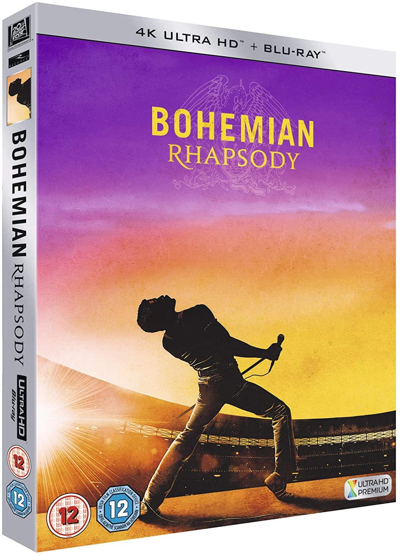 [amazon.co.uk] Bohemian Rhapsody 4K Ultra HD Blu-ray mit deutscher Tonspur + Blu-ray ohne deutsche Tonspur