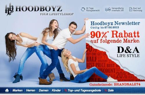 Hoodboyz 90% auf alles von D&A (neu aufgefüllt)