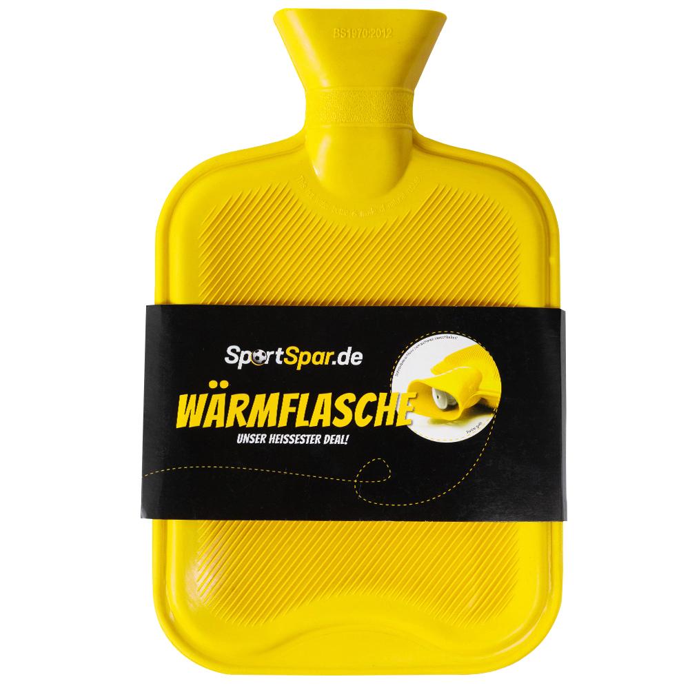 Sportspar.de Wärmflasche gelb und schwarz