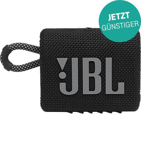 JBL GO 3 - Bluetooth Lautsprecher (schwarze Version)