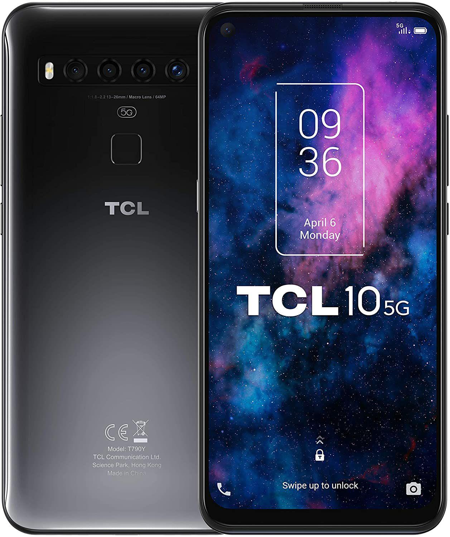 "TCL 10 Smartphone - 5G, 6,5"" FHD+, Snap 765G, 6GB/128GB, 4500mAh, NFC, aptX (Amazon.es)"