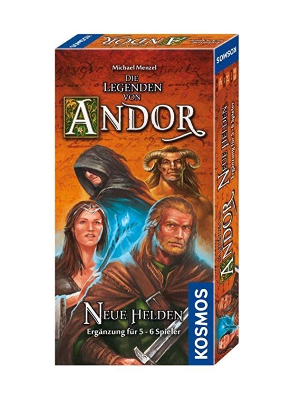 Die Legende von Andor: Neue Helden Erweiterung // Brettspiele // Amazon Prime