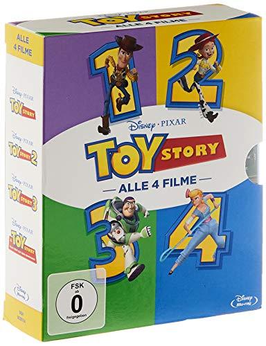 Toy Story 1-4 Komplettbox (Blu-ray) [AMAZON]