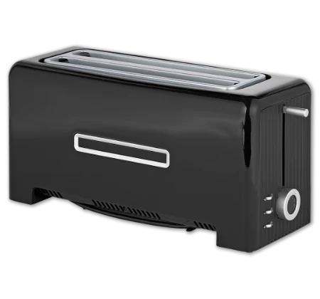 Medion Family-Toaster (Entspricht wohl MEDION MD 15709), Langschlitztoaster, 4 Toasts, 3 J. Garantie