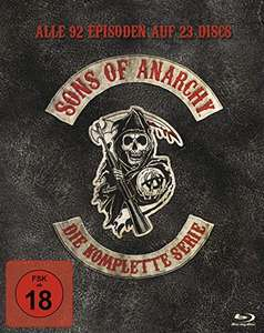 Sons Of Anarchy - Die Komplette Serie (Blu-ray) für 69,97€ inkl. Versand (Amazon)