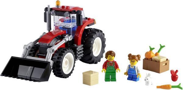 Neuer Bestpreis: Lego City 60287 Traktor für 12,36€ (°P: 10,56€)