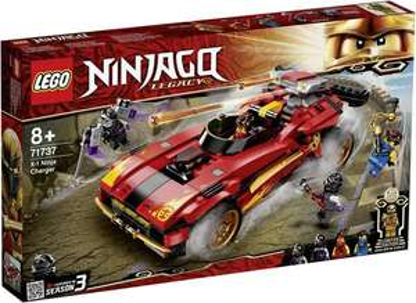 LEGO Ninjago Legacy - X-1 Ninja Supercar (71737) für 34,70€ inkl. Versand (Thalia)