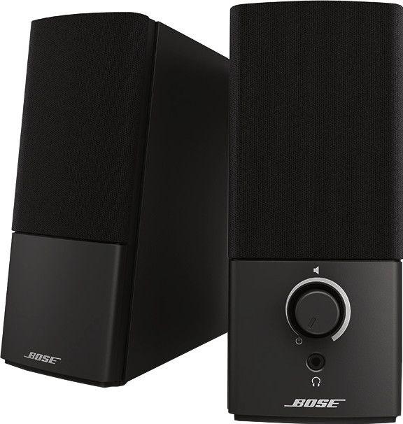 Bose Companion 2 Serie III 2.0 Stereo Multimedia PC-Lautsprechersystem schwarz