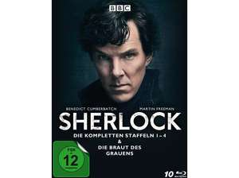 Sherlock - Die kompletten Staffeln 1-4 & Die Braut des Grauens (Blu-ray) - SATURN
