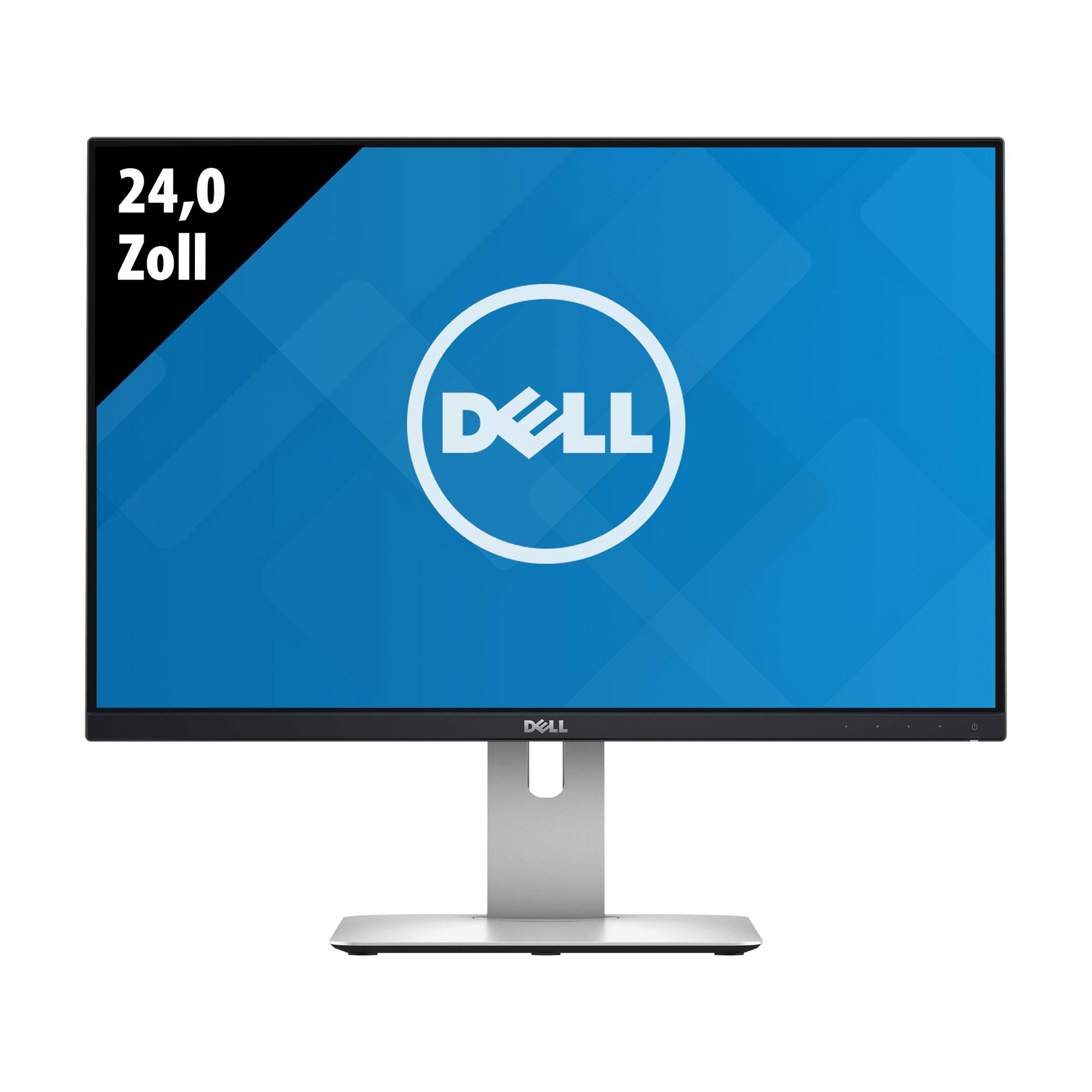 """[Gebrauchtware] Dell U2415b (24.1"""", 1920x1200, IPS, 300cd/m², 99% sRGB, 60Hz, 2x HDMI, DP-In, DP-Out, MiniDP, 5x USB-A 3.0, Pivot, 1J Gar.)"""
