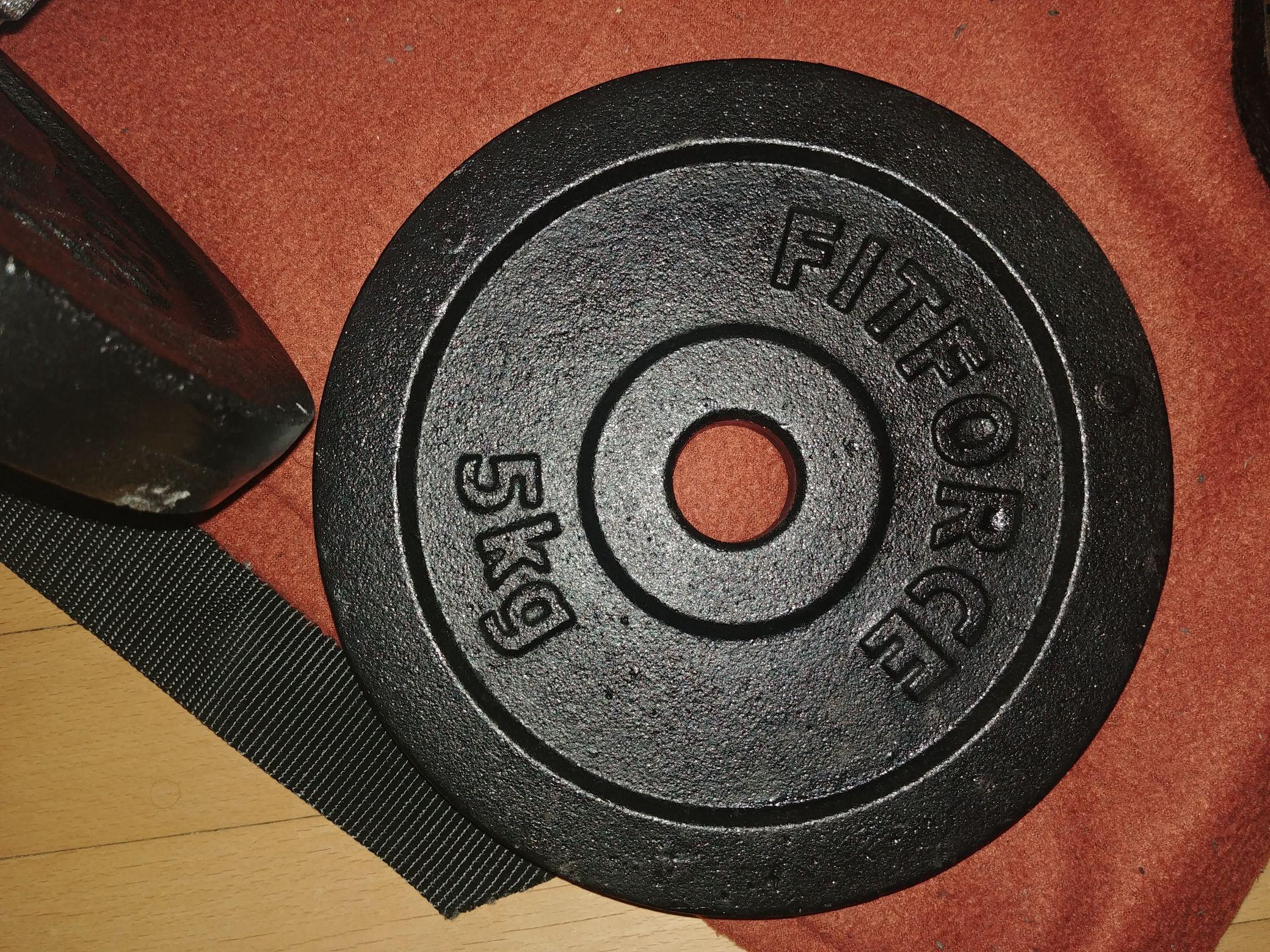 Gußeiserne 5kg Hantelscheibe