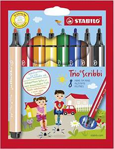 [Amazon Prime] Stabilo Trio Scribi - gefederter Filzstift