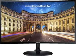 SAMSUNG C27F390FHU LED Curved 27 Zoll Full-HD Monitor (4 ms Reaktionszeit, 60 Hz)