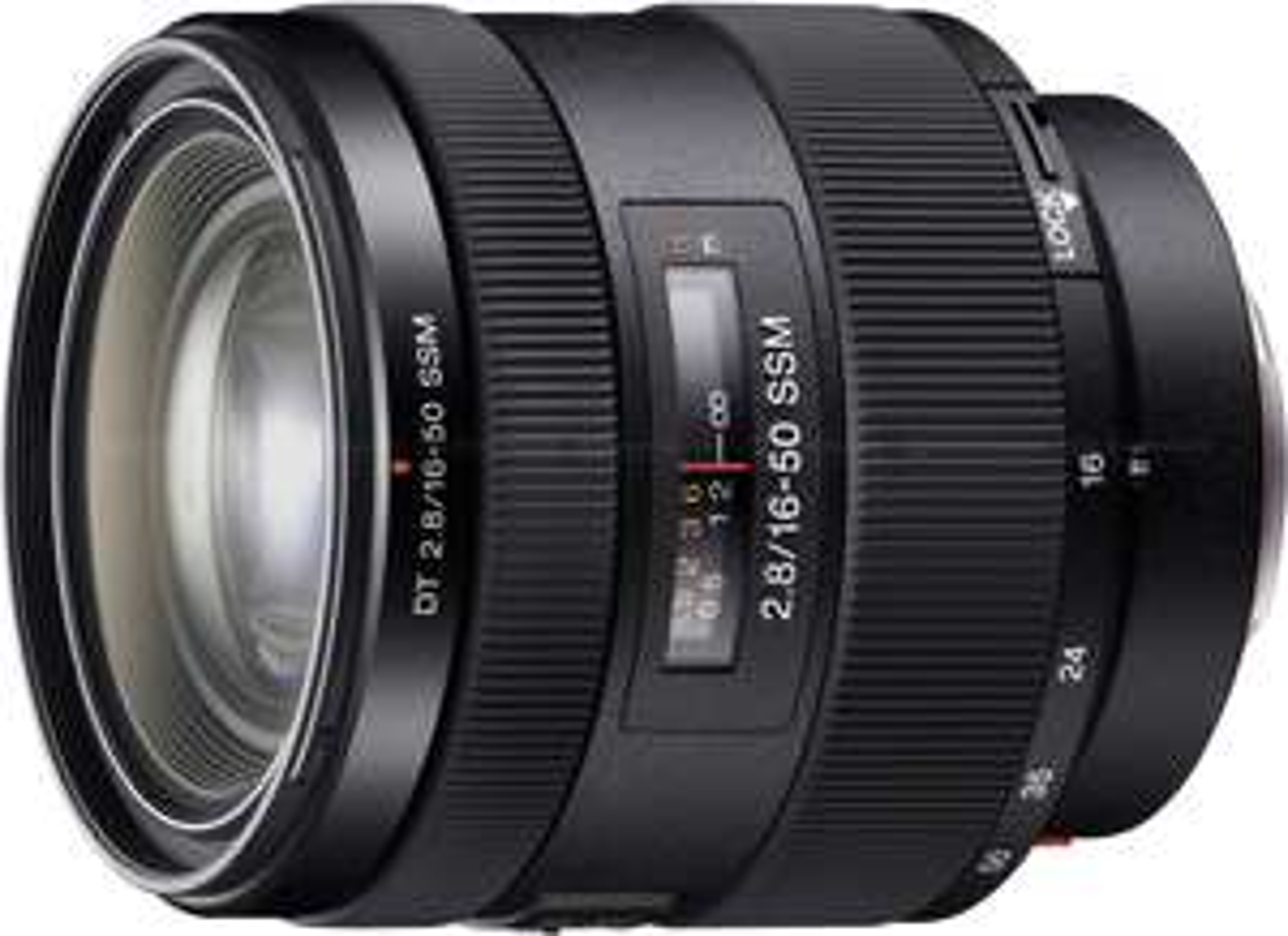 MediaMarkt-Club-Kunden: Sony A-Mount Objektive im Angebot - z.B. Sony DT 16-50mm f2.8 SSM oder Sony 50mm 1.4 schwarz (SAL-50F14) für 299,58€