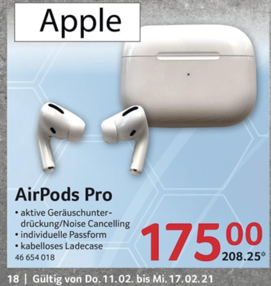 Apple AirPods Pro mit Corporate Benefits Mitarbeiterangebot bei Selgros