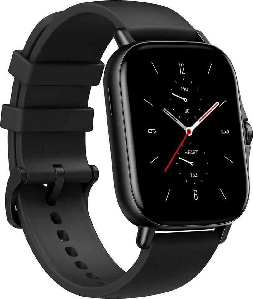 "Amazfit GTS 2 Smartwatch (1.65"" OLED-Display, Bluetooth 5.0, GPS, 246mAh) in schwarz"