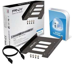 PNY Technologies SSD UPGRADE KIT inkl. Acronis True Image HD  @ Amazon