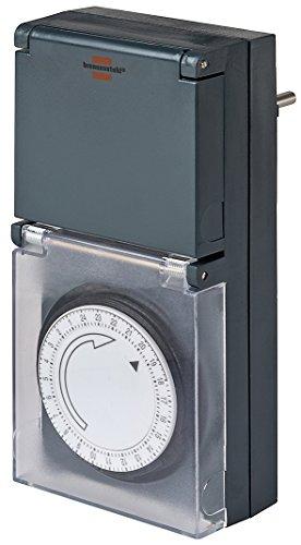 Brennenstuhl Zeitschaltuhr MZ 44, mechanische Timer-Steckdose Prime