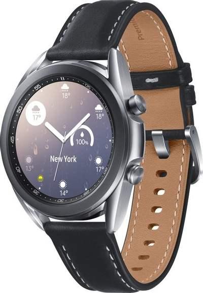 """Samsung Galaxy Watch 3 41mm LTE mystic silver (1.2"""" OLED, 1/8GB, Tizen OS, GPS, NFC, BT 5.0, 56h Akku) für 277€   Otto Neukunden = 248,15€"""