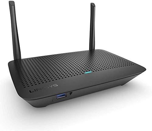 [Amazon] Linksys MR6350 Dual-Band Mesh-WLAN WiFi 5-Router (AC1300, kompatibel mit Velop WLAN-System, Kinderschutzfunktionen)