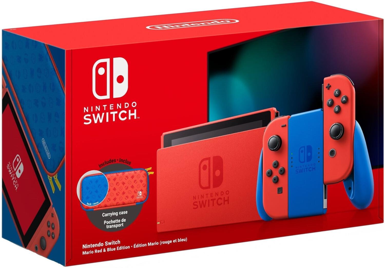 Nintendo Switch Mario Red & Blue Edition [Amazon FR]