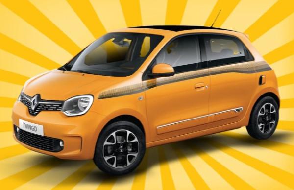(Gewerbeleasing) Renault Twingo Vorführwagen 29€ mtl + 399€ Bereitstellung (62,25€ mtl), LF: 0,27, mit Klimaanlage und Audio System R&GO