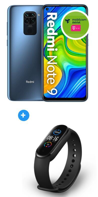 Xiaomi Redmi Note 9 64GB mit Band 5 im Debitel Telekom (18GB LTE, Allnet/SMS, VoLTE) mtl. 19,99€ einm. 29€, keine AG oder 40GB Otelo +30€