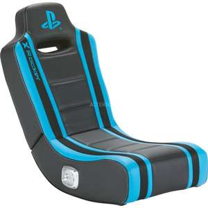 X Rocker Geist 2.0 Floor Rocker, Gaming-Stuhl (schwarz/blau) [Alternate]