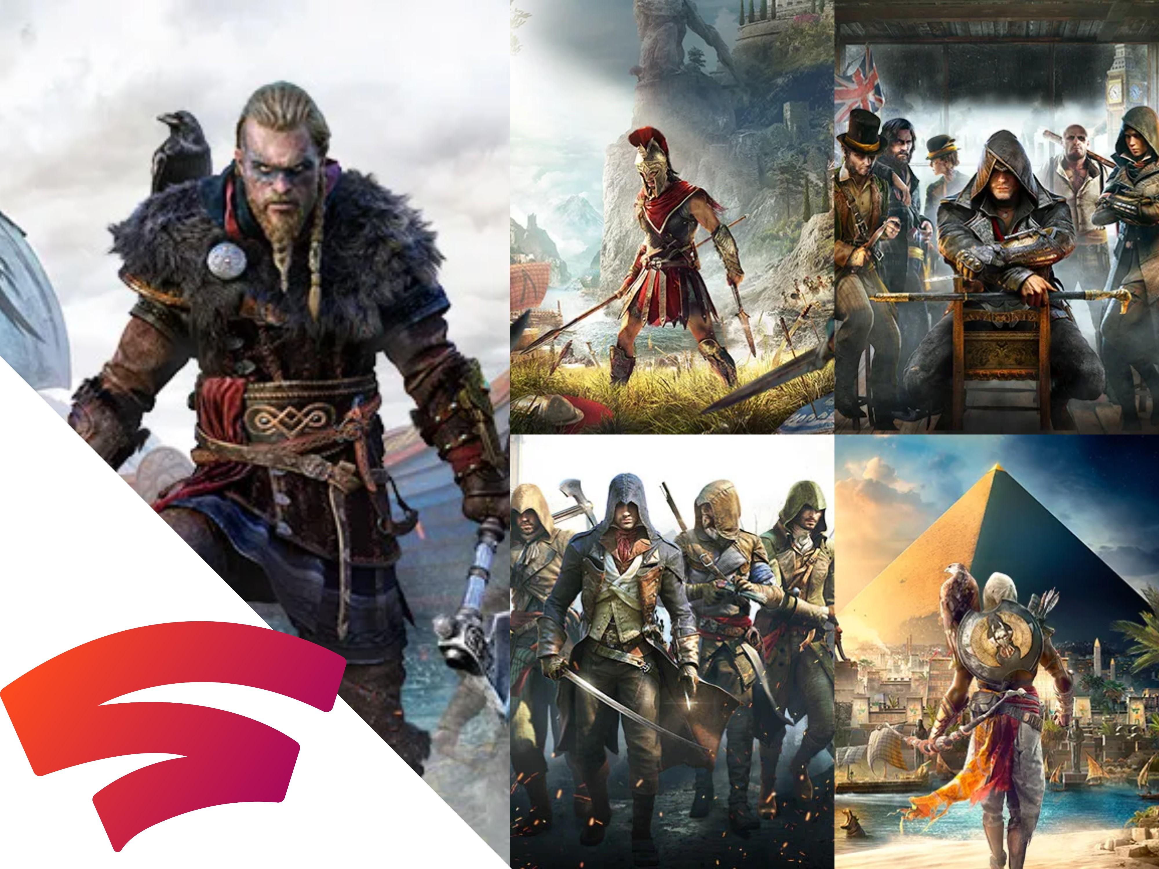 [Stadia Pro und Stadia] Assassin's Creed Valhalla und alle anderen Teile