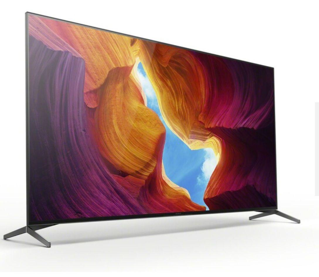 Sony KD75XH9505B Full Array LED TV (75 Zoll (189 cm), 4K UHD, Smart TV, HDR, Full Array LED, HD Twin Triple Tuner, Sprachsteuerung)