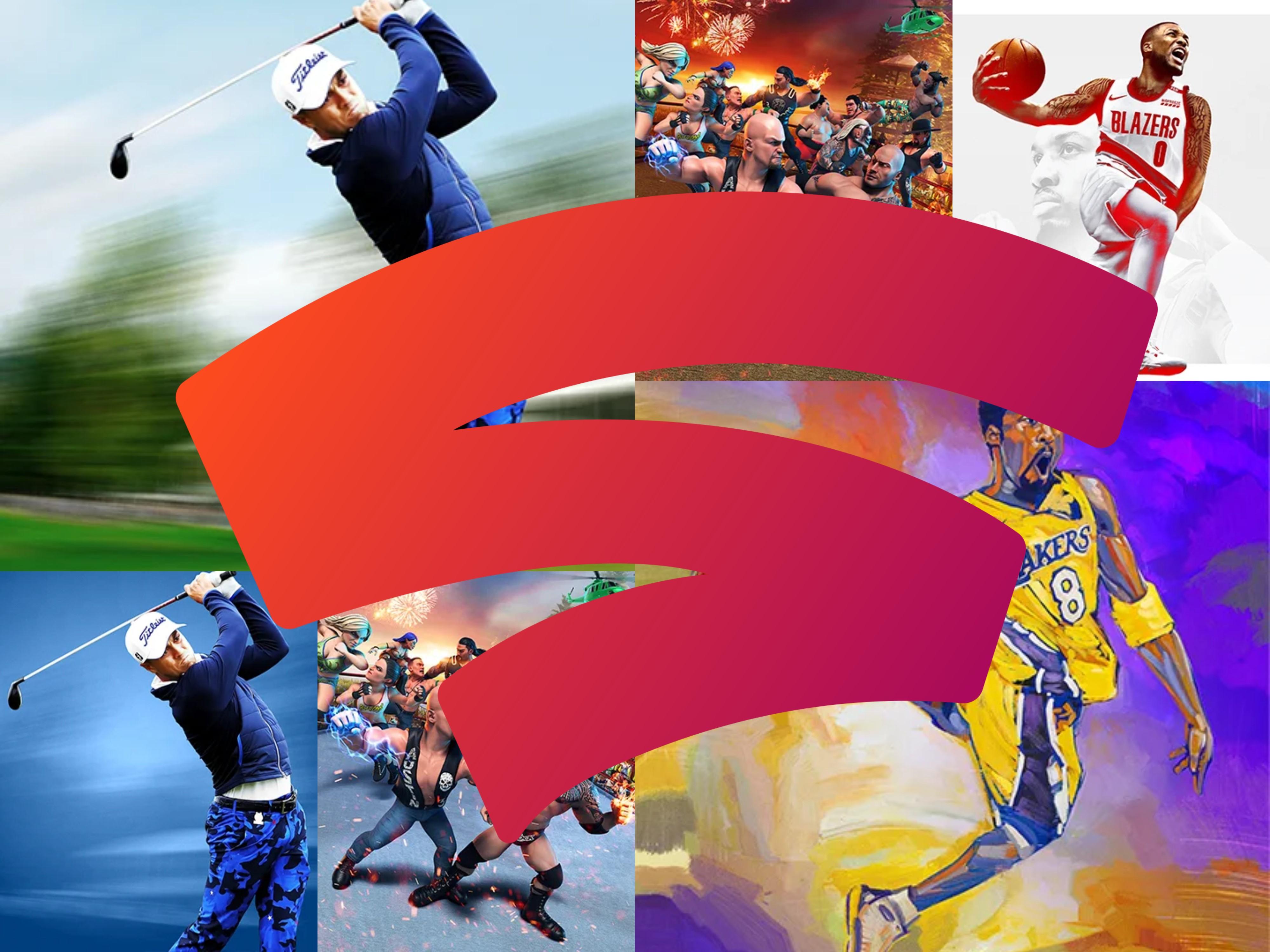 [Stadia] 2K Sportsgames Sammeldeal mit PGA TOUR 2K21, NBA2K21 und WWE 2K