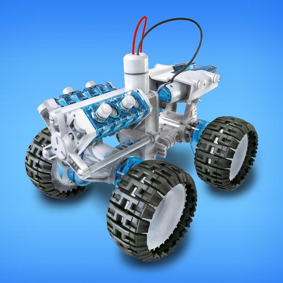 4 x 4 Auto zum Basteln mit Salzwasserantrieb für 12,99€ @ Mymemory